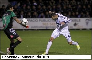 Le Real Madrid bat Alcoyano en Copa